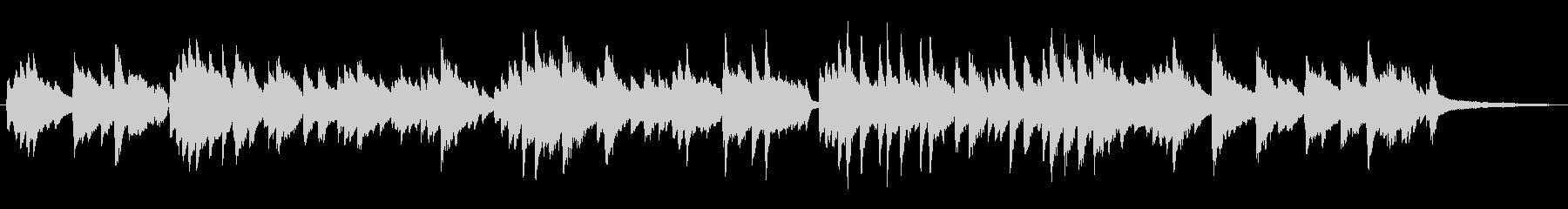 シンプルなラウンジ風ポピュラーピアノソロの未再生の波形