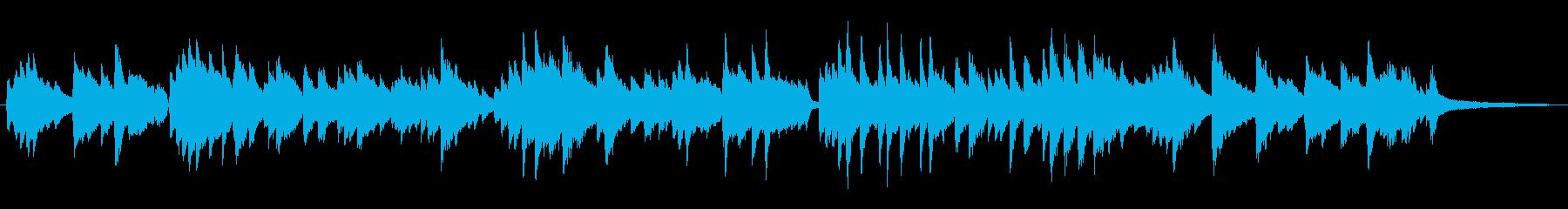 シンプルなラウンジ風ポピュラーピアノソロの再生済みの波形