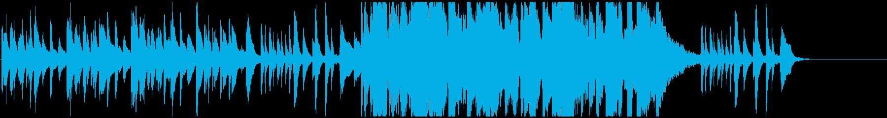 小粋お洒落なフレンチジャズ 後半盛り上りの再生済みの波形
