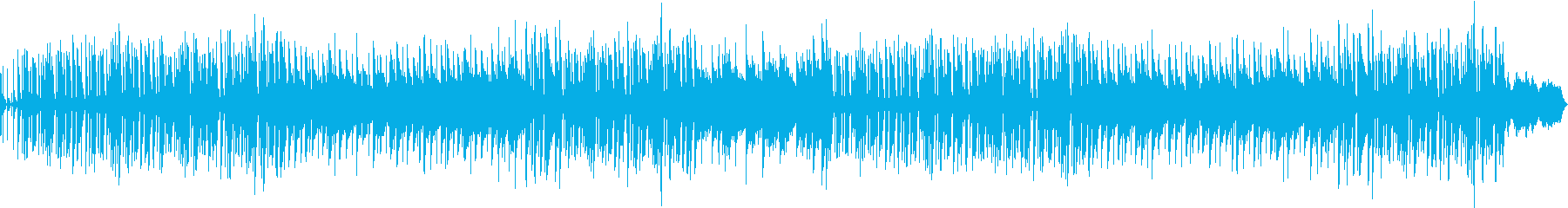 ほのぼの、ほんわか系インストの再生済みの波形