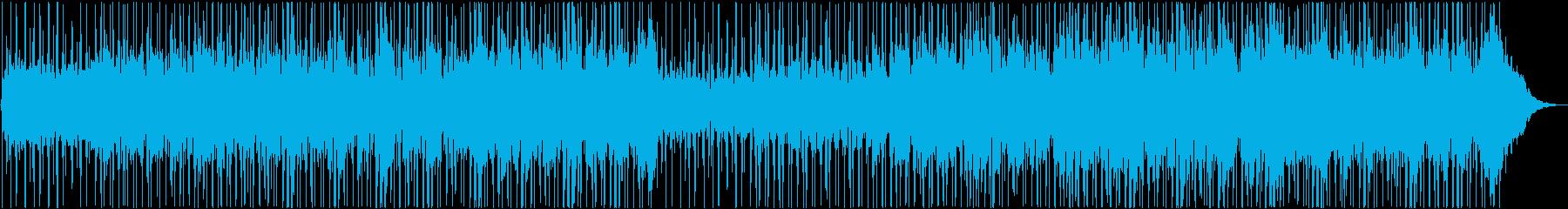 アンビエントテクスチャ、電子要素、...の再生済みの波形