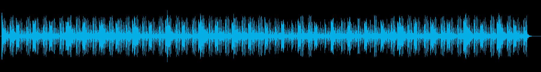 神秘的なシンセが特徴のテクノポップスの再生済みの波形