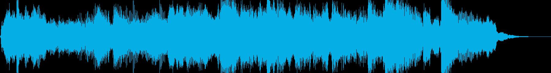15秒のTVCMに。アコースティック系の再生済みの波形