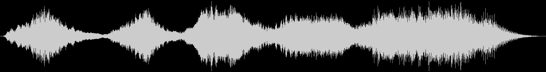 PADS 波状ドローン01の未再生の波形
