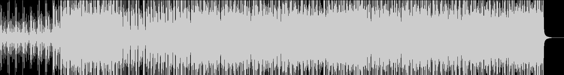 三味線&ストリングスの和風ロックの未再生の波形