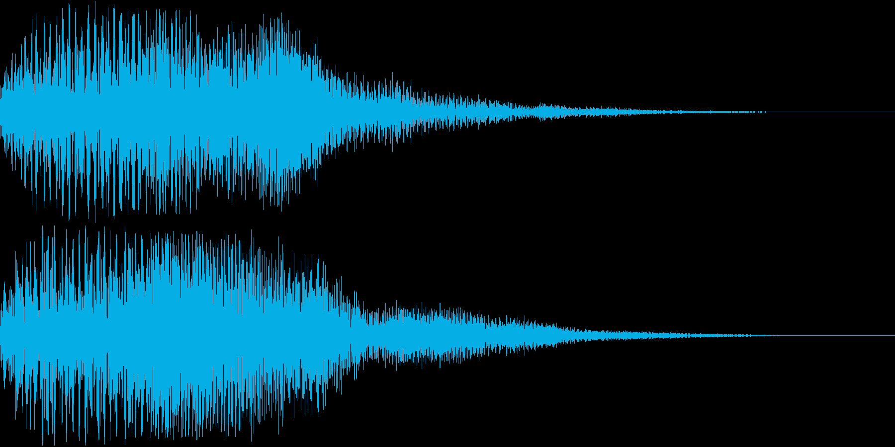 ホラー 恐怖 インパクト 魔法 ダークの再生済みの波形