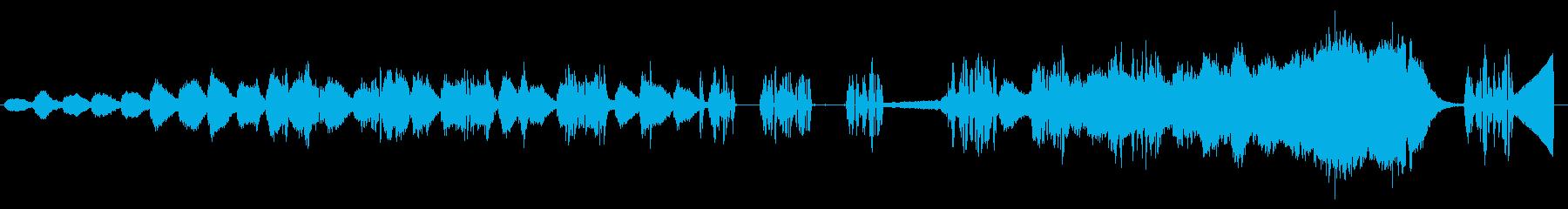 鞠の空想の再生済みの波形