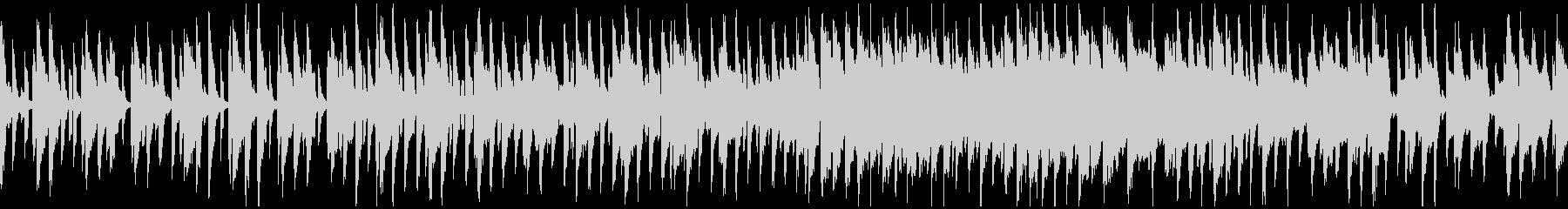 キュートなゆるいリコーダー ※ループ版の未再生の波形