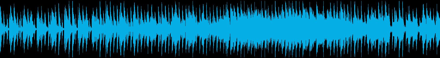 キュートなゆるいリコーダー ※ループ版の再生済みの波形
