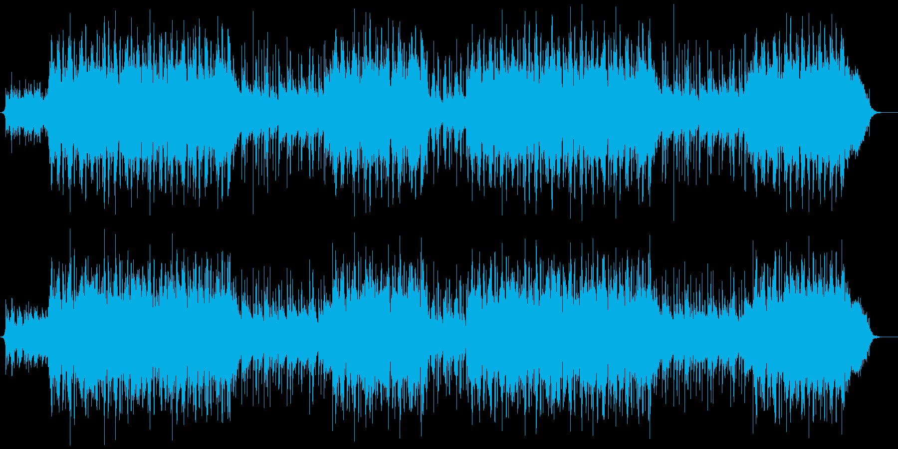 和風VP系7(尺八&琴)透明感、優しいAの再生済みの波形
