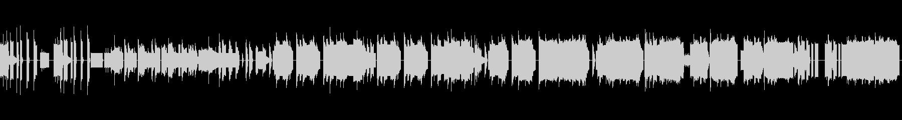 チップチューン演歌(リズム改変ループ版)の未再生の波形