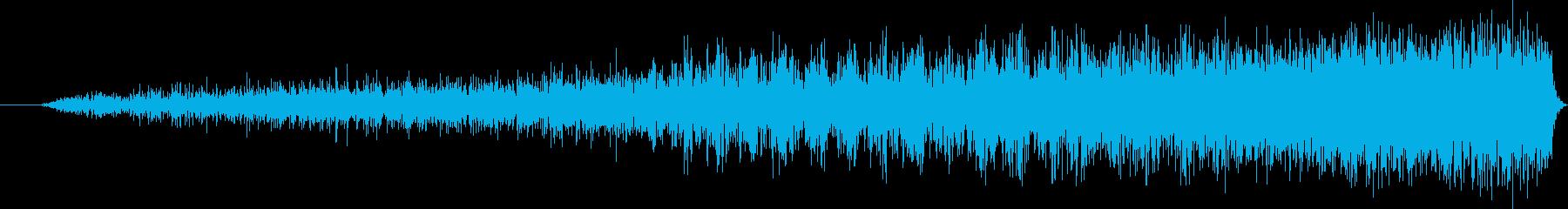 宇宙コンピューターまたはデバイス画...の再生済みの波形