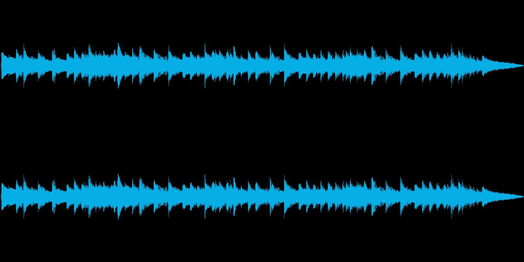 アラーム音-1 15秒の再生済みの波形