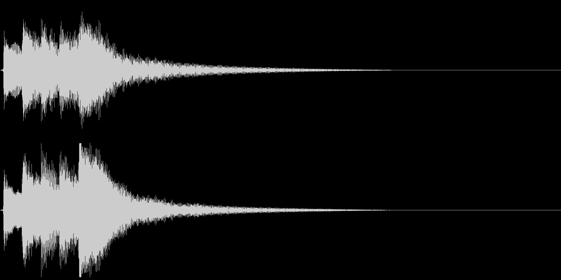 【効果音】サウナ用のギター:水風呂3の未再生の波形