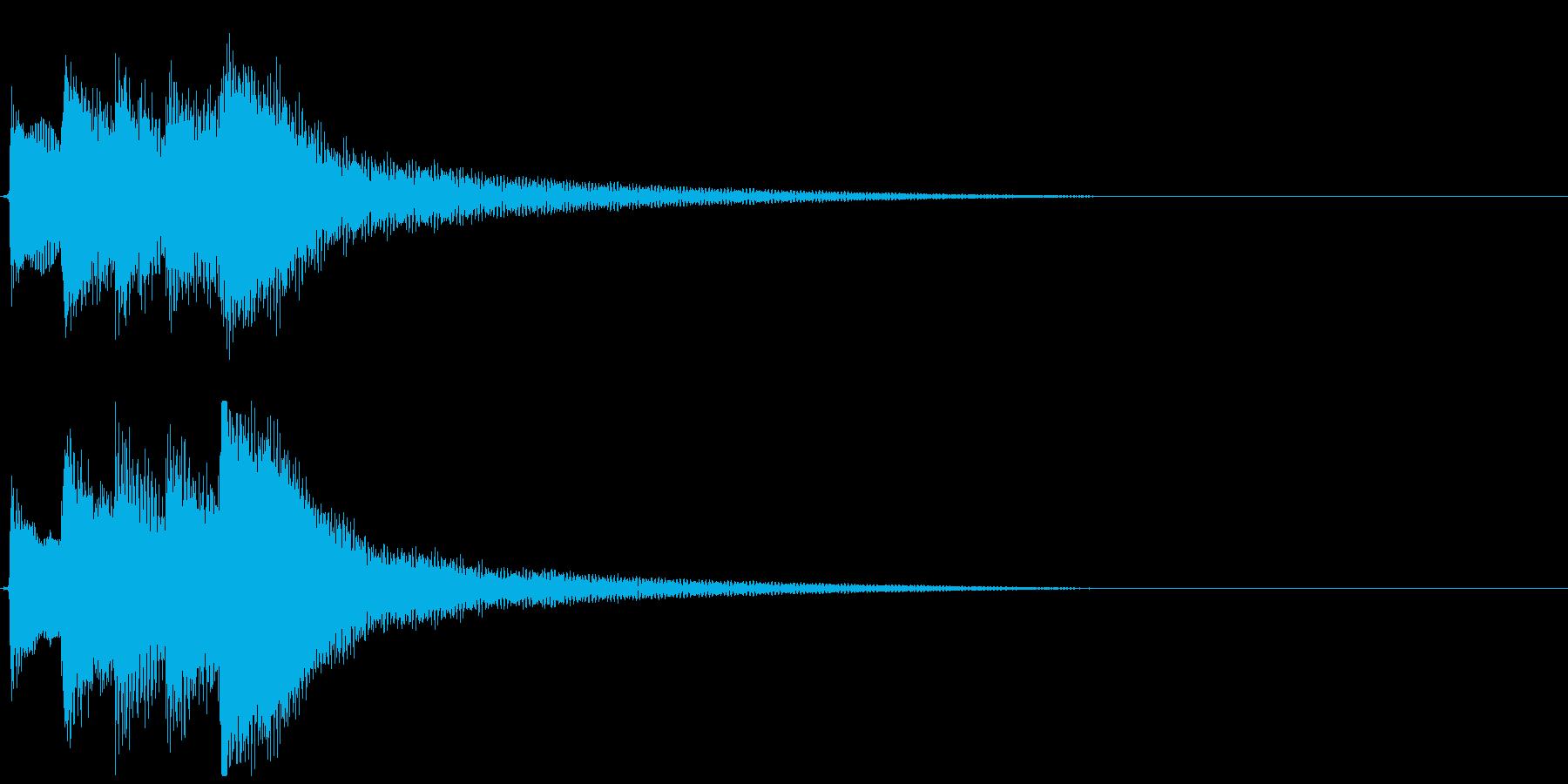 【効果音】サウナ用のギター:水風呂3の再生済みの波形