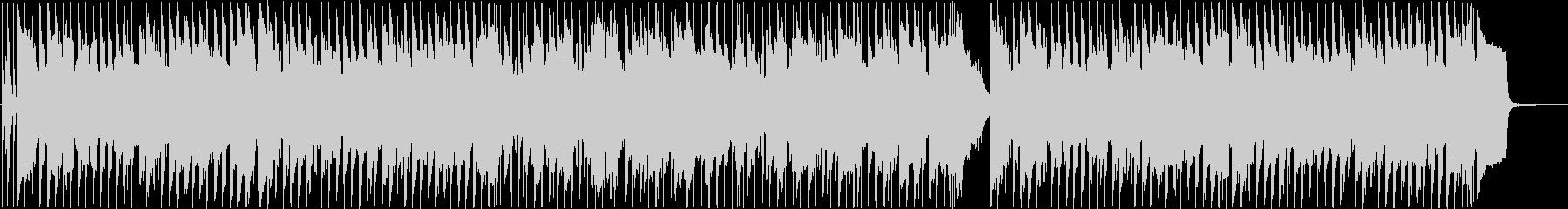 陽気なリコーダーのポップな日常BGMの未再生の波形