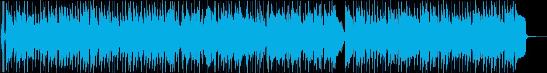 陽気なリコーダーのポップな日常BGMの再生済みの波形