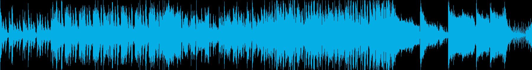 オケ+民族楽器/遺跡の探検BGM/ループの再生済みの波形