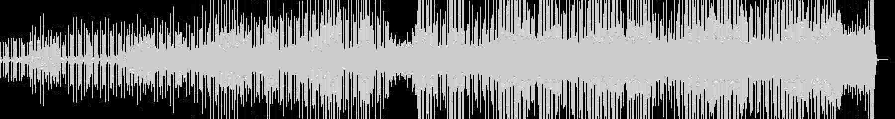 長閑→軽快・徐々にポップスへ展開 Aの未再生の波形