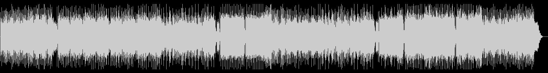 追跡シーンなどをイメージした緊迫系楽曲の未再生の波形