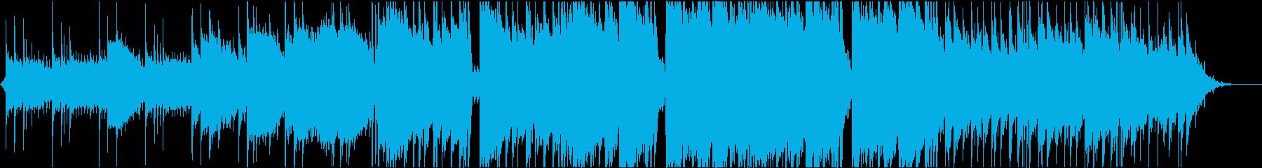 クールな映像音楽/トラベル/ドローンの再生済みの波形