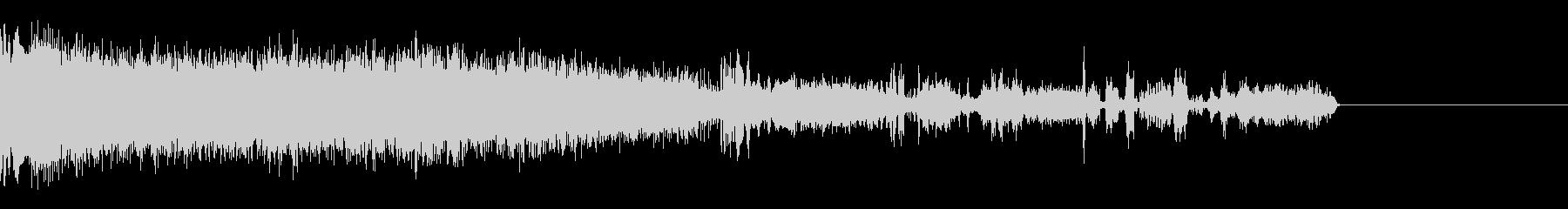 FMラジオ的ジングル12の未再生の波形