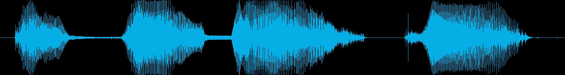 2~3歳女の子 「おっぱい だいすき」の再生済みの波形