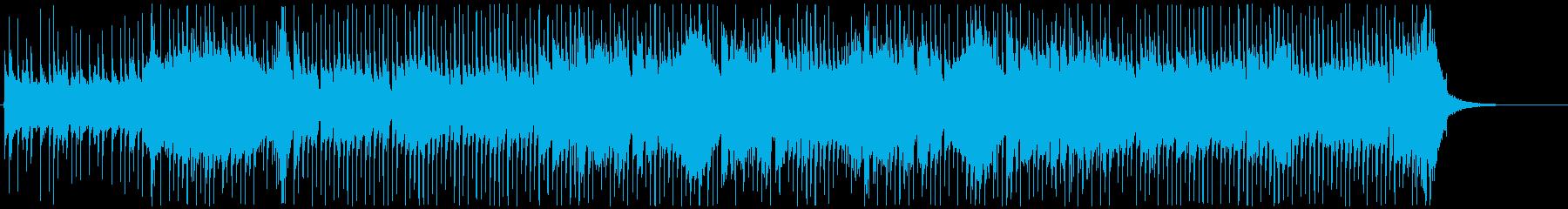 和風VP系3、和楽器ロック、バトル疾走Bの再生済みの波形