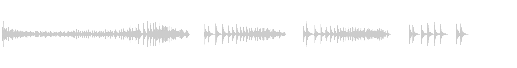大太鼓31打出ドロ歌舞伎情景描写和風和太の未再生の波形