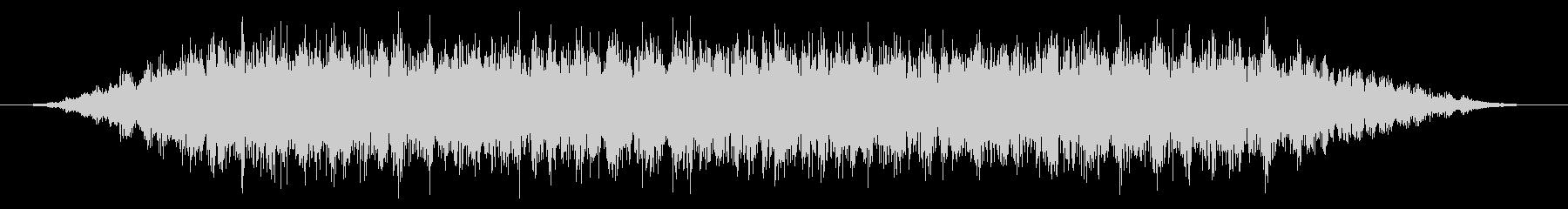 カエル/中距離/合唱(10秒Ver.)の未再生の波形