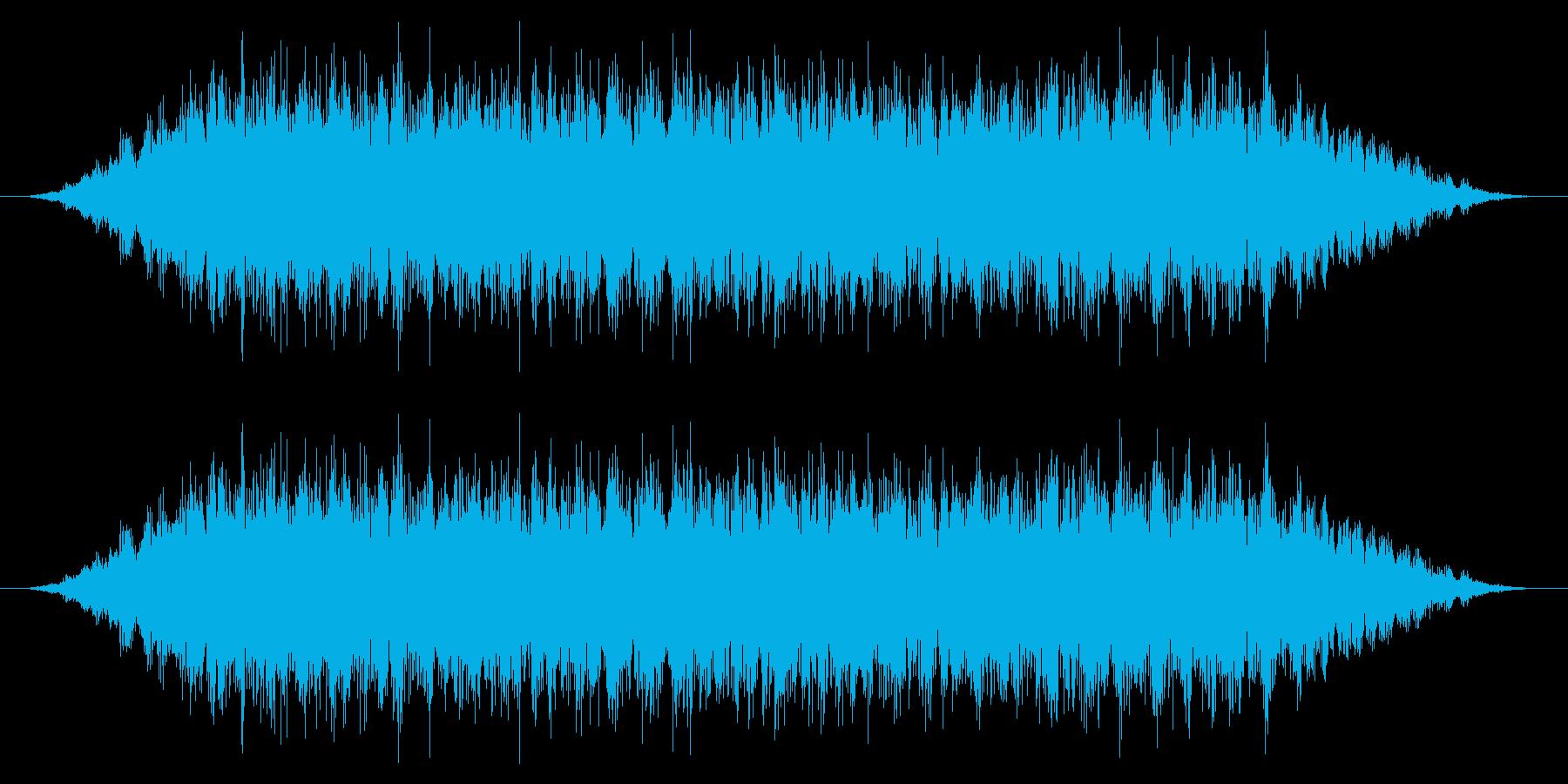 カエル/中距離/合唱(10秒Ver.)の再生済みの波形