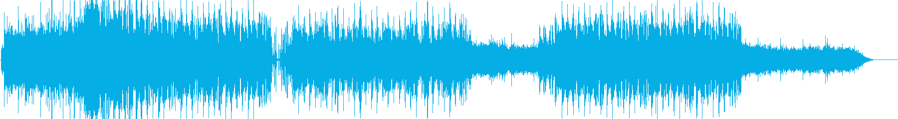 R&B バラードの再生済みの波形