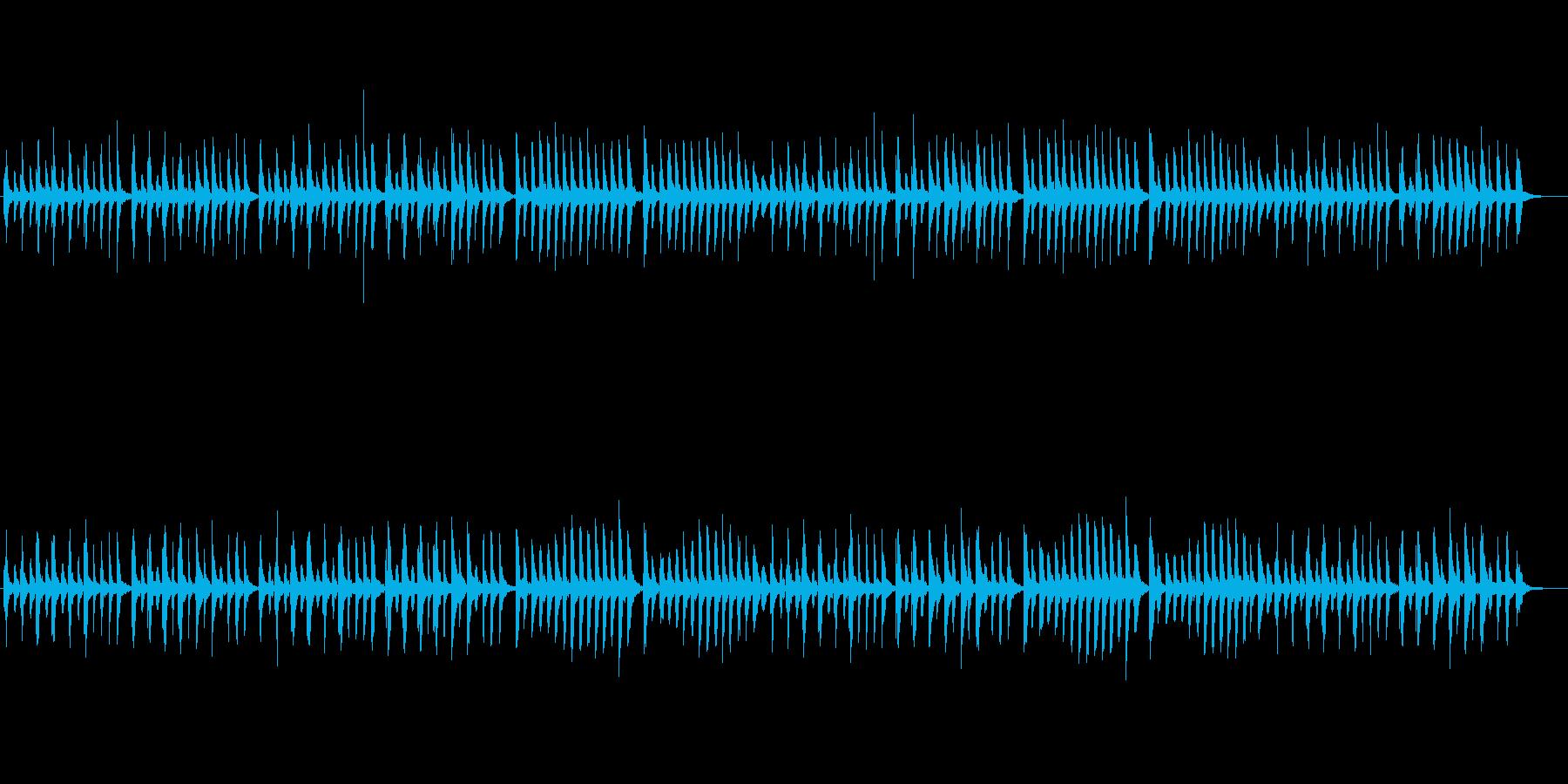 クラシックピアノ、チェルニーNo.40の再生済みの波形