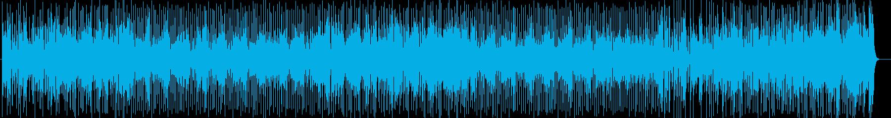 明るくはじけるようなシンセサウンドの再生済みの波形