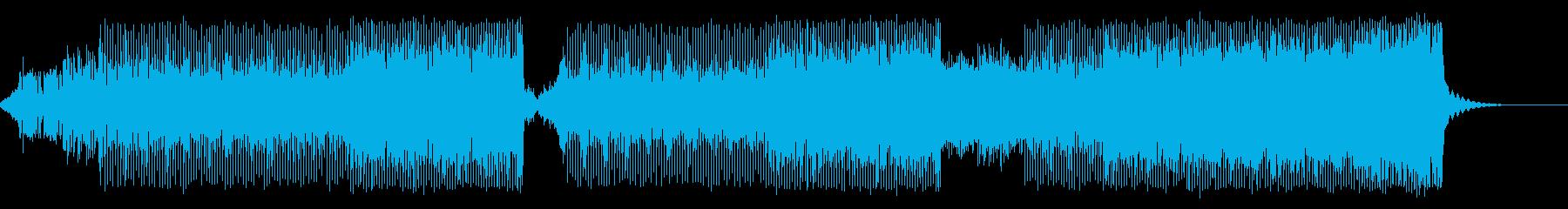 シンセが印象的なディスコサウンドの再生済みの波形