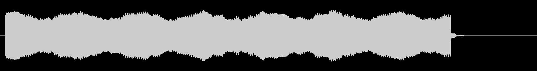 心停止の心電図音-Cの未再生の波形