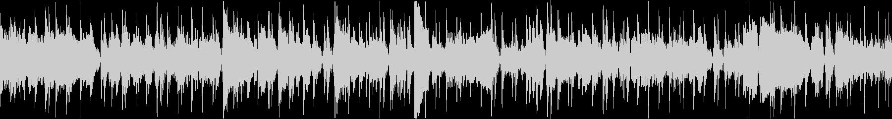 ソロトランペットが印象的なジャズトラックの未再生の波形