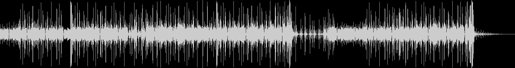 カリンバを用いたポップなエレクトロニカの未再生の波形
