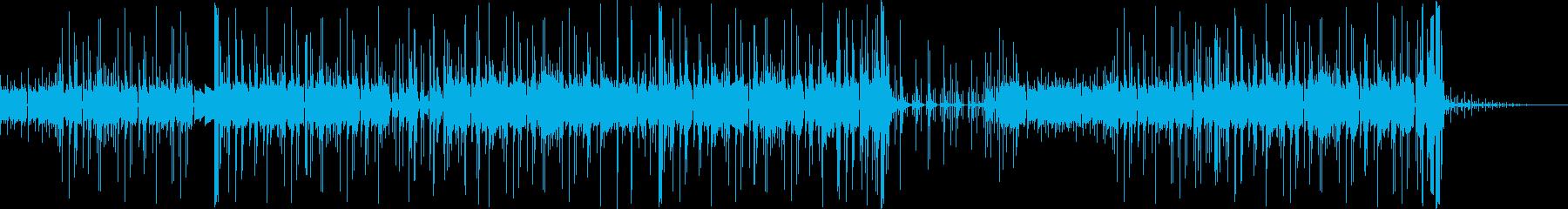 カリンバを用いたポップなエレクトロニカの再生済みの波形