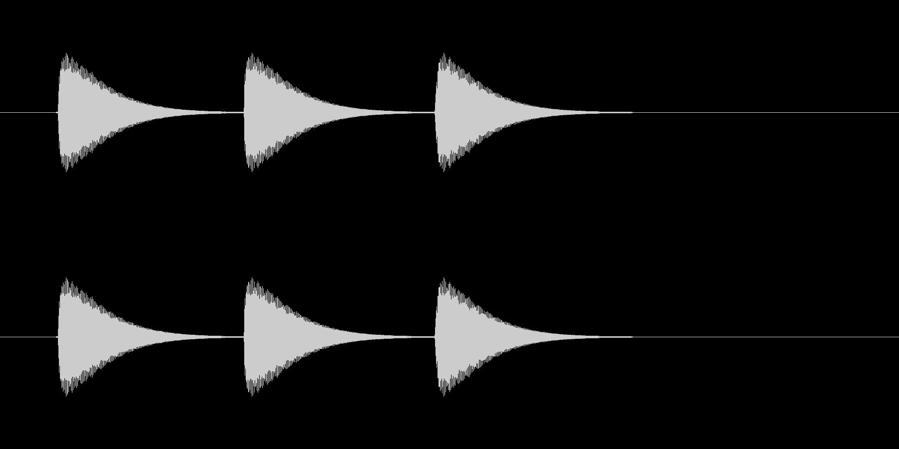 【ショートブリッジ13-4】の未再生の波形