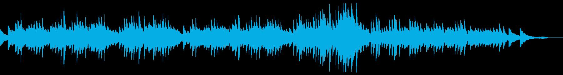 ショパン「別れの曲」原曲ピアノ・有名部分の再生済みの波形