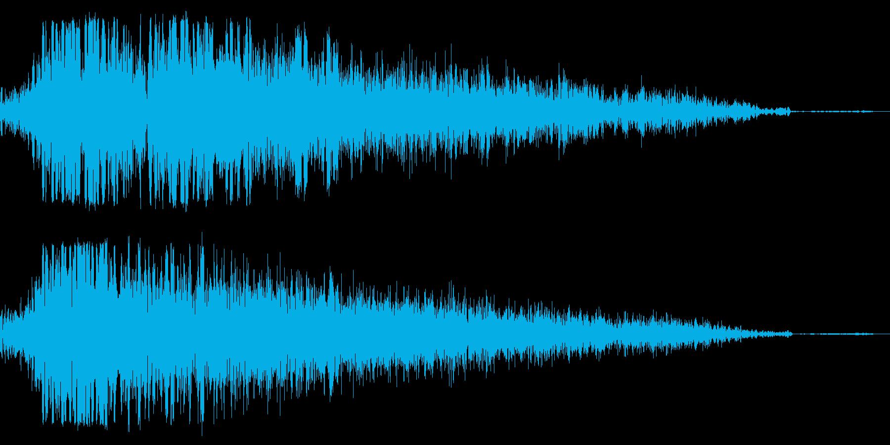 タックルの再生済みの波形