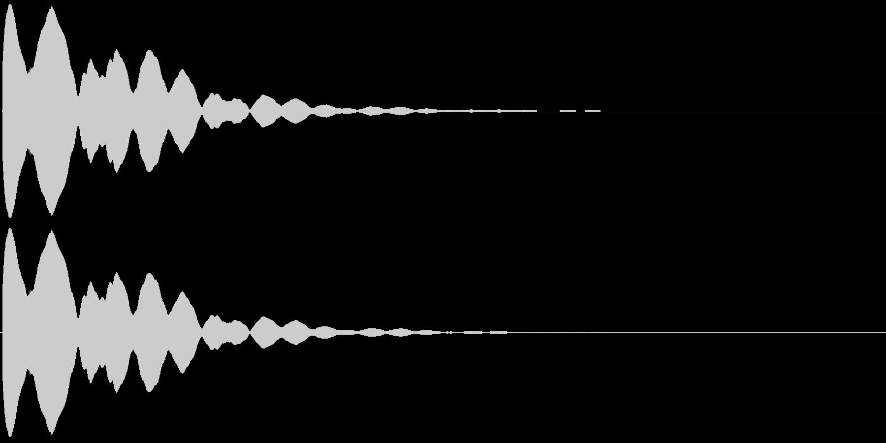 キュイン(飛ばされて星になる タイプ2)の未再生の波形