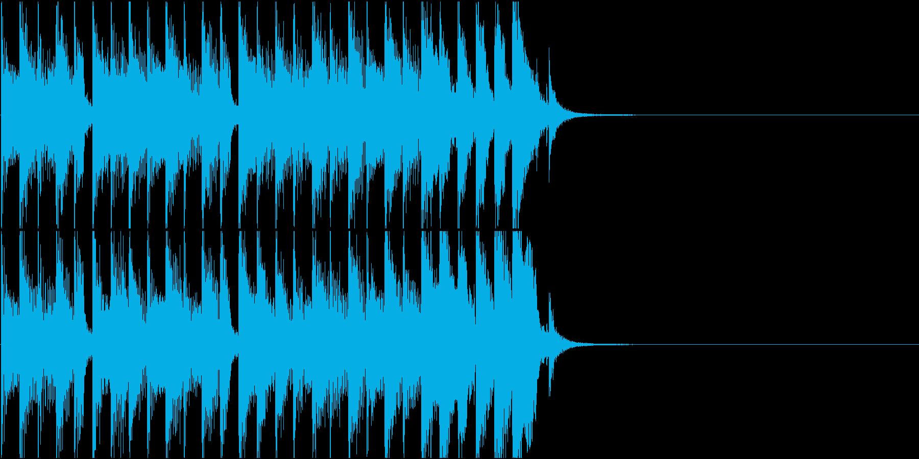 せわしないアイキャッチの再生済みの波形
