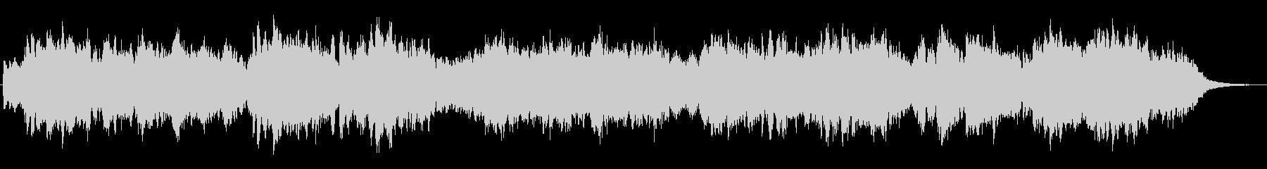 バグバイプが印象的な明るいジングル2の未再生の波形