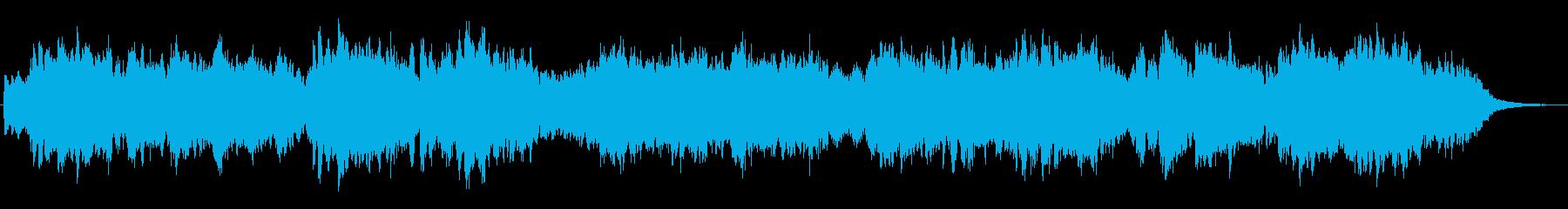 バグバイプが印象的な明るいジングル2の再生済みの波形