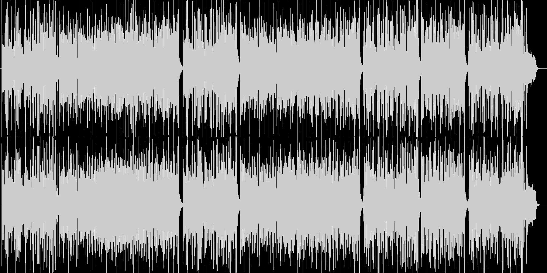 セッションによるグルーヴィーなポップスの未再生の波形