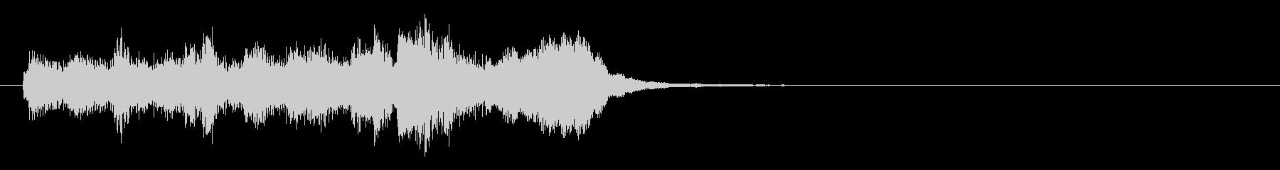 のほほんジングル011_かっこいいの未再生の波形
