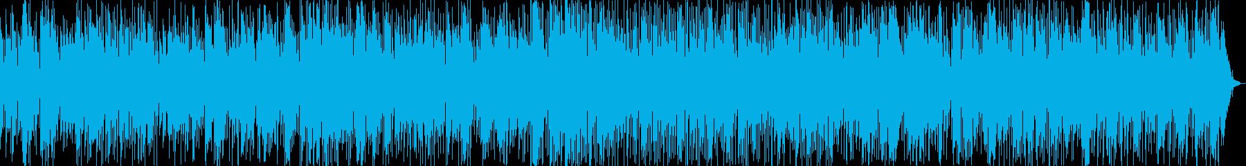 トランペットのゆったりジャズバラードの再生済みの波形