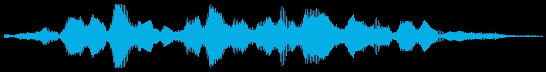 素材 大気フィードバックパッド低01の再生済みの波形